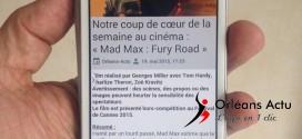 L'application « Orléans Actu » désormais disponible sur Androïd
