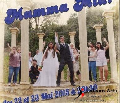 « Mamma Mia » au théâtre Gérard Philipe d'Orléans les 22 et 23 mai 2015