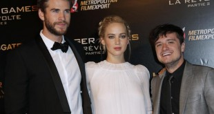 A la rencontre de Jennifer Lawrence, Josh Hutcherson et Liam Hemsworth